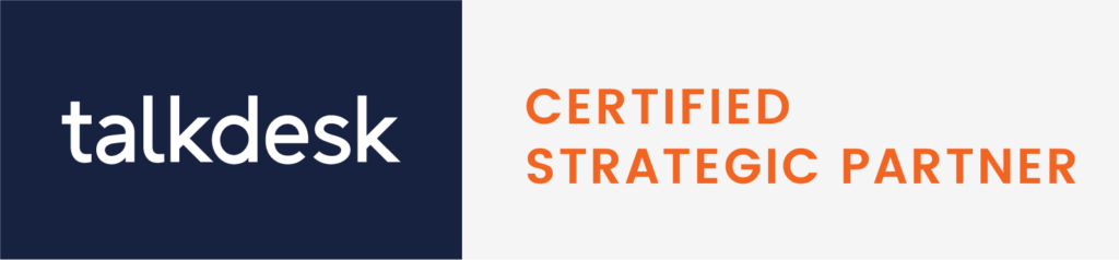 Talkdesk Certified Strategic Partner